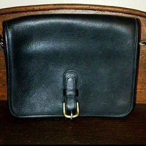 Vintage Coach  saddle pouch NYC bag!!